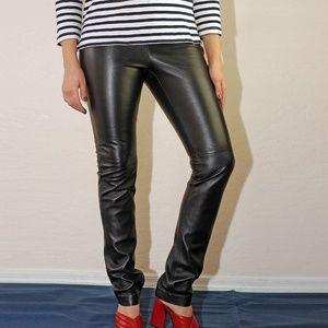 Victoria's Secret Leather Pants, Small